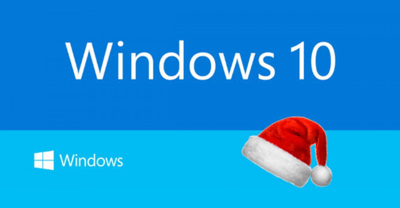 Windows 10 karácsonyra